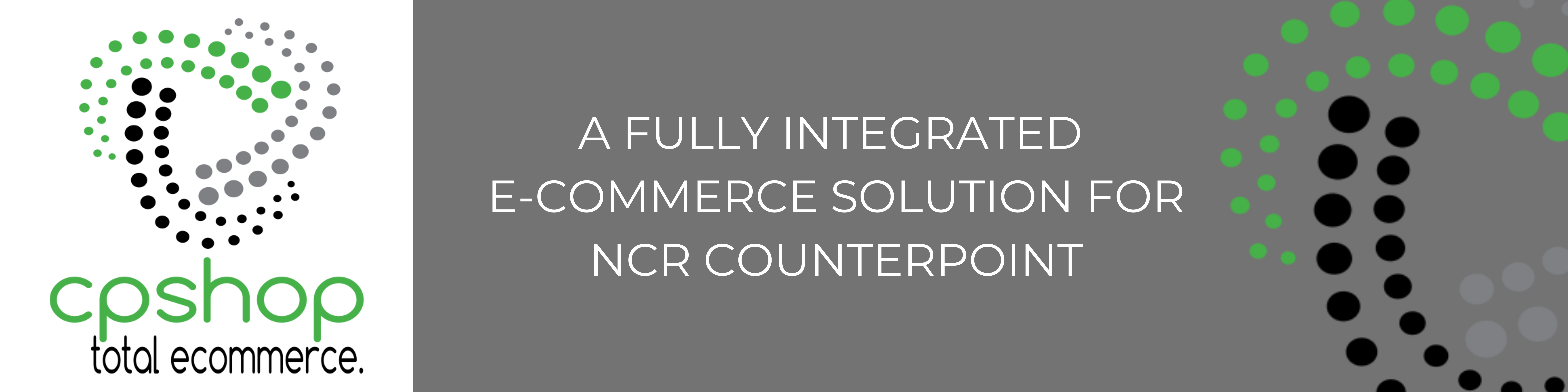 CPShop A Fully Integrated E-commerce Solution For NCR Counterpoint